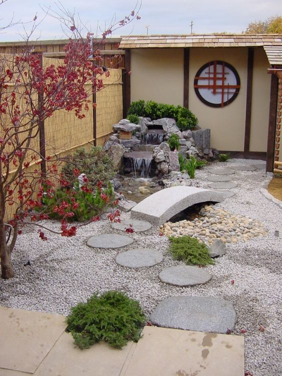 thi công sân vườn phong cách Nhật Bản